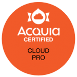 Acquia Certified Cloud Pro Badge