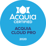 Acquia Certified Cloud Pro 2020 Badge