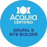 Drupal 9 Site Builder Badge