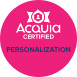 Acquia Certified Personalization Pro Badge